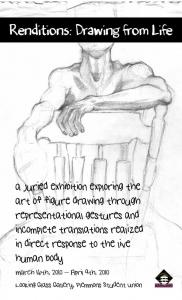 Renditions: Drawing from Life Poster